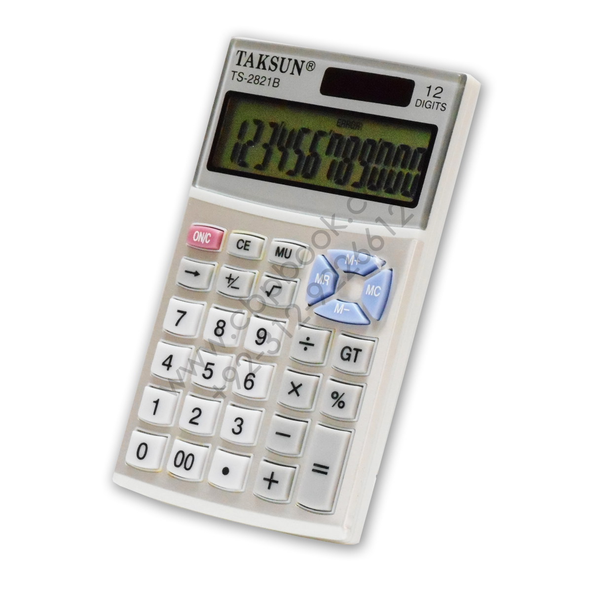 12 digit pocket size electronic calculator