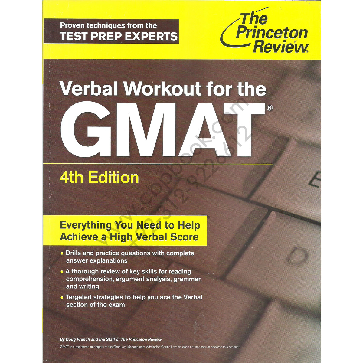 the princeton review verbal workout for the gmat 4th edition