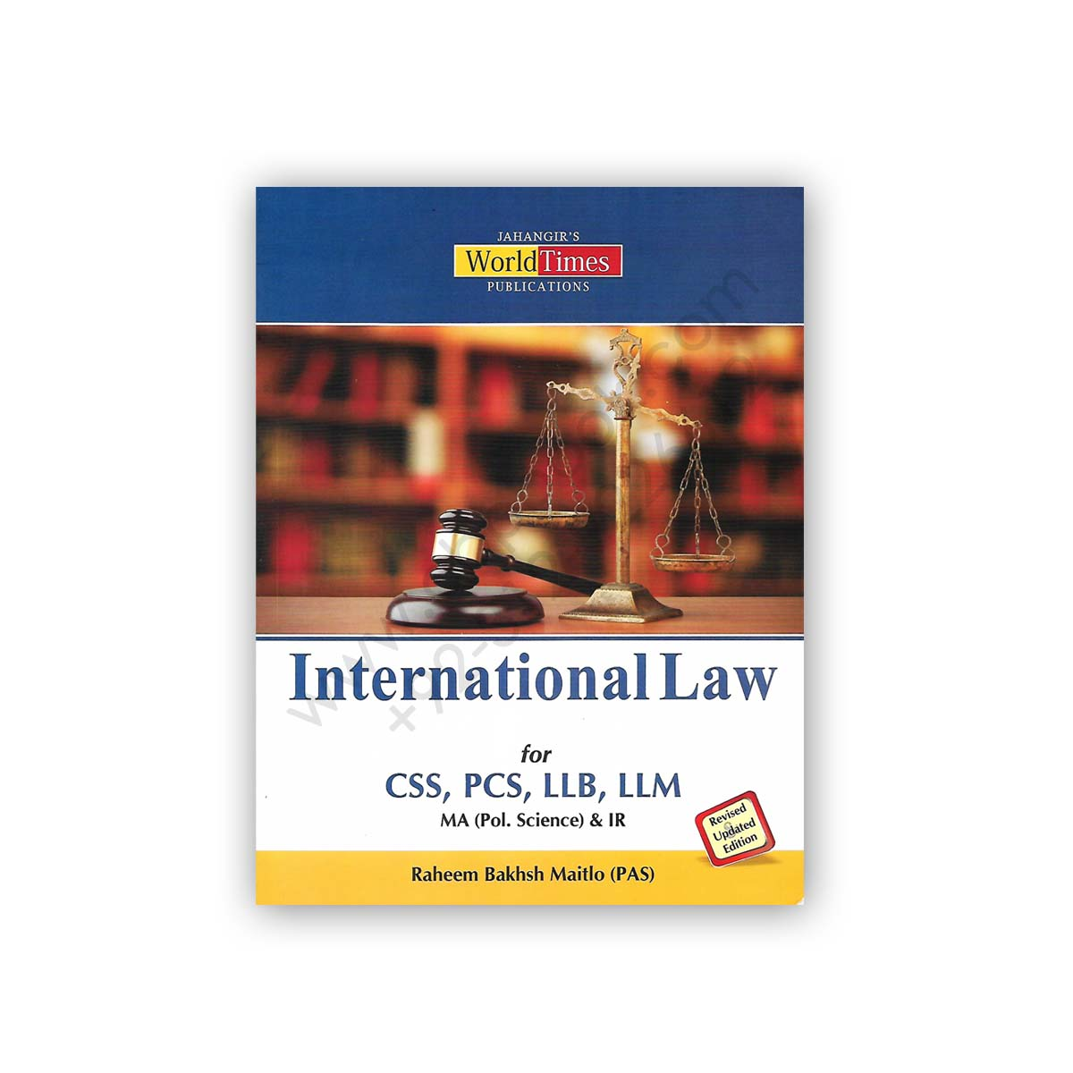 jwt international law for css pcs llb llm by raheem baksh maitlo