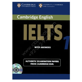 cambridge english ielts 1 book with answers and 2 audio cds