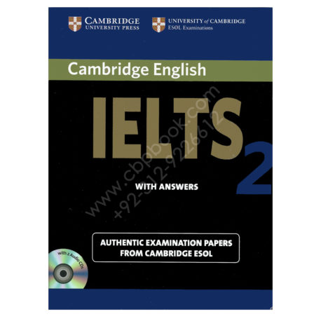 cambridge english ielts 2 book with answers and 2 audio cds