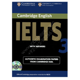 cambridge english ielts 3 book with answers and 2 audio cds
