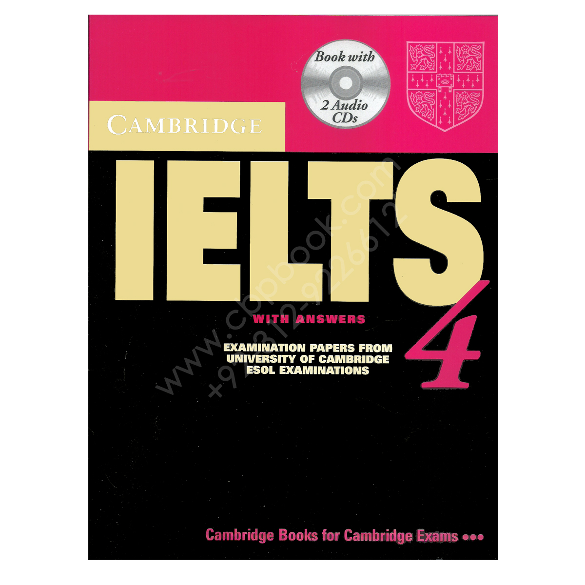 Cambridge English Ielts Book 4 With Answers And 2 Audio Cds