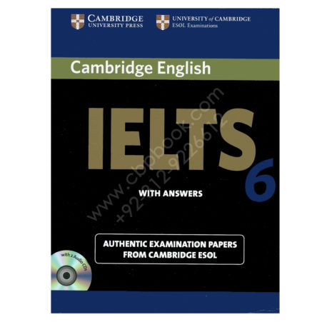 cambridge english ielts 6 book with answers and 2 audio cds