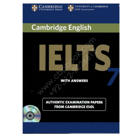 cambridge english ielts 7 book with answers and 2 audio cds