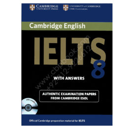 cambridge english ielts 8 book with answers and 2 audio cds