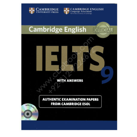 cambridge english ielts 9 book with answers and 2 audio cds