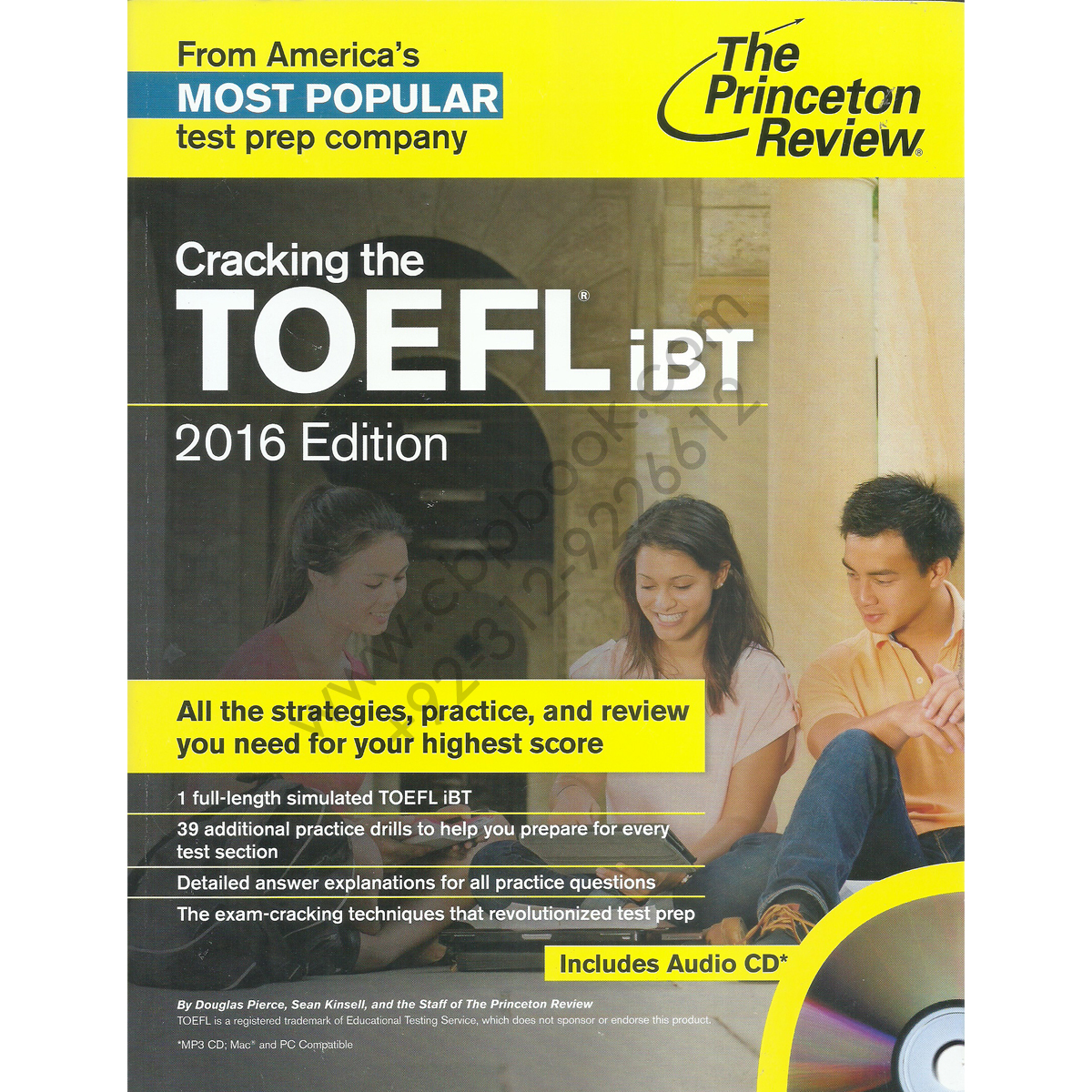 the princeton review cracking the toefl ibt 2016 edition
