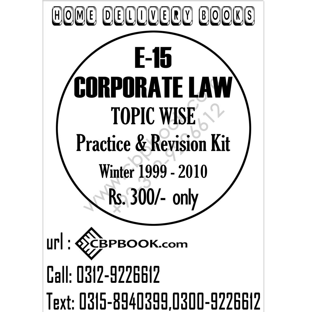 ca module e e 15 corporate law topic wise practice and revision kit