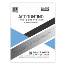 o level accounting theory (art#105) by m nauman malik - read & write