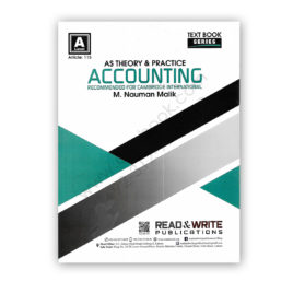 AS/L ACCOUNTING Theory By M Nauman Malik (Art#115) – Read & Write