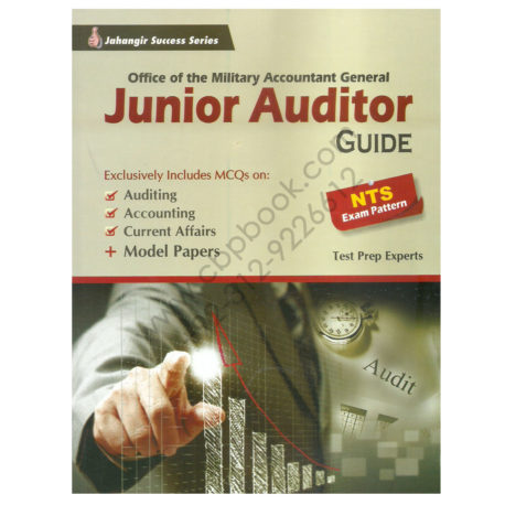 military accountant general junior auditors guide by jahangir books
