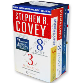 stephen r covey three international bestsellers