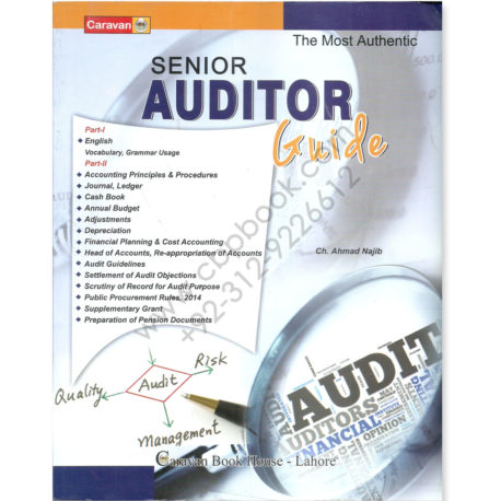 senior auditor guide 2016 by ch najib ahmed caravan book housesenior auditor guide 2016 by ch najib ahmed caravan book house