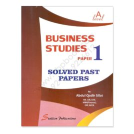 a level business studies paper 1 solved past papers by abdul qadir silat
