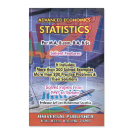 advanced economics statistics by prof arif an muhammad universal