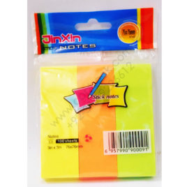 jinxin stick notes e3 100 sheets 3 colors