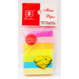 kadisi memo paper sticky notes 7 colors