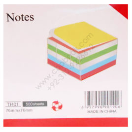 notes th01 500 sheets 76mmx76mm