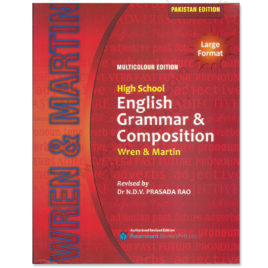 wren & martins high school english grammar & composition