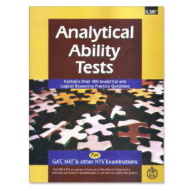 analytical ability tests for gat nat nts by ilmi kitab khana