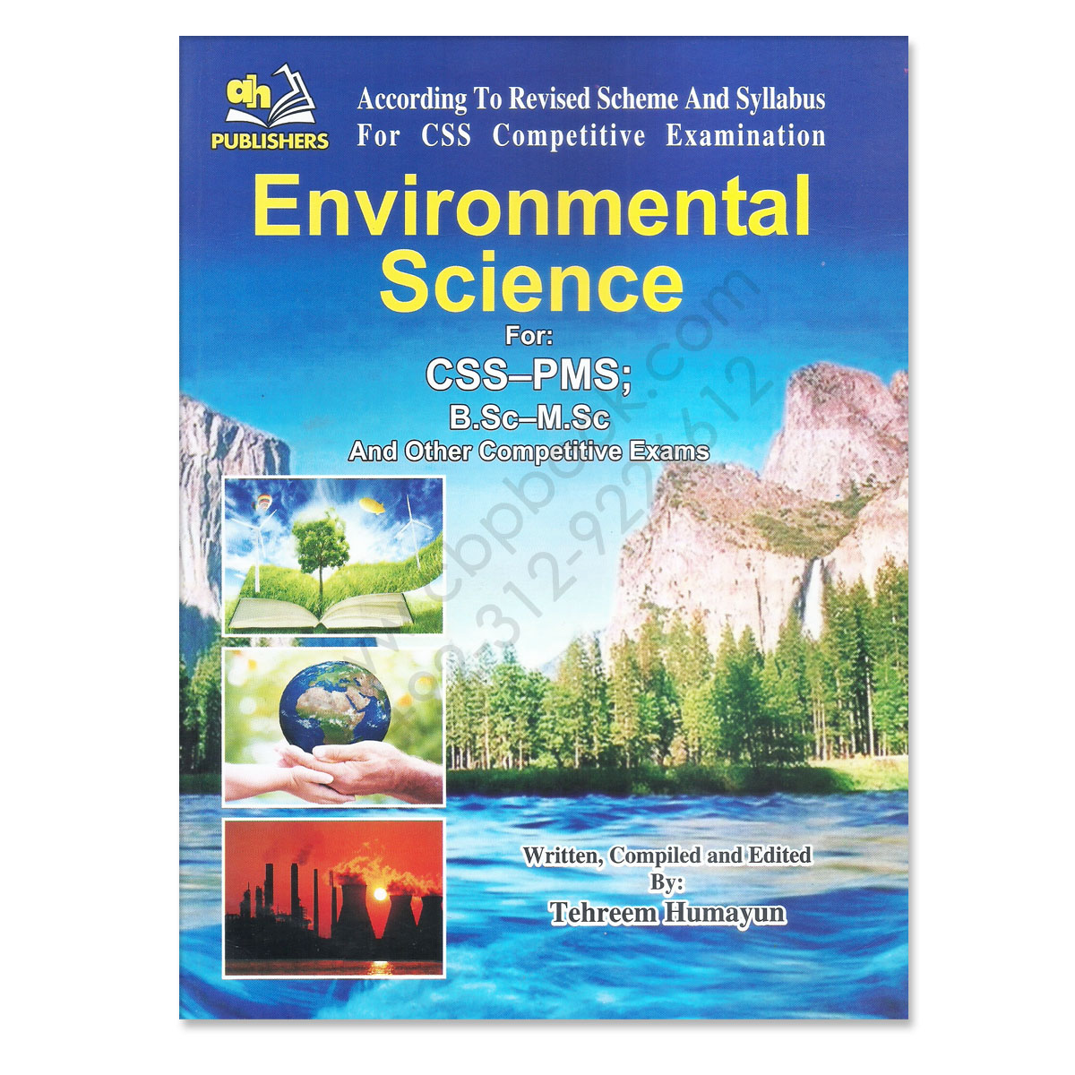 environmental science for css pms by tehreem humayun ah publisher