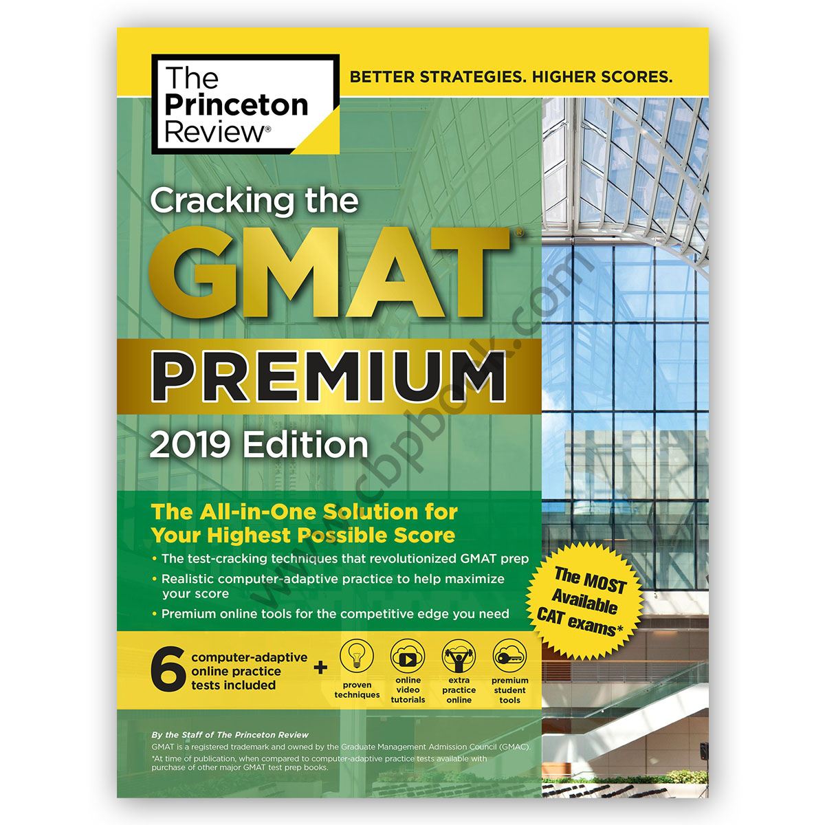 cracking the gmat premium 2019 with 6 practice tests - the princeton review