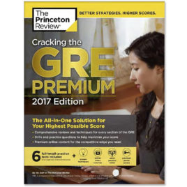 cracking the gre 2017 edition with 6 full length practice tests princeton