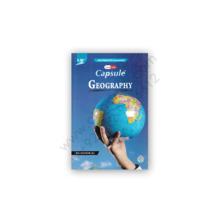 ILMI One Liner Capsule GEOGRAPHY for PCS PMS By Rai Mansab Ali