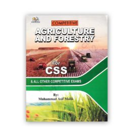 AH Competitive Agriculture and Foresty For CSS By M Asif Malik