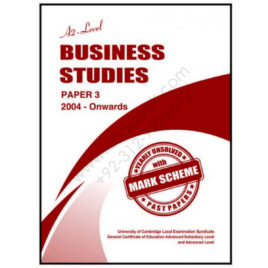 a2 level business studies p3 yearly unsolved past papers from 2004 onwards