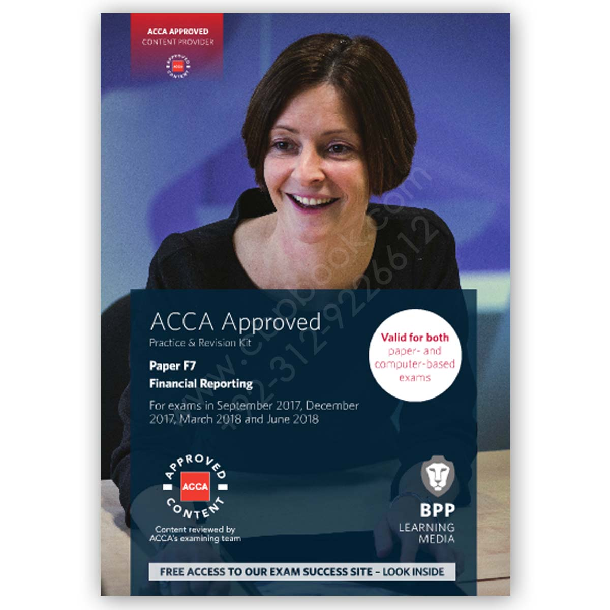 acca paper f7 financial reporting revision kit 2017 2018 bpp