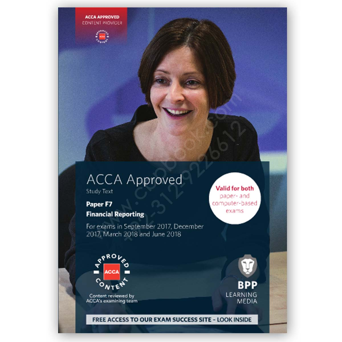 acca paper f7 financial reporting study text 2017 2018 bpp