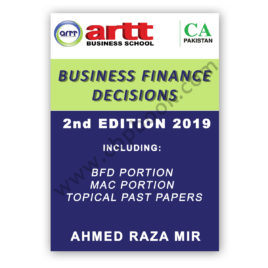 ca cfap 4 bfd 2nd edition 2019 by ahmed raza mir - artt business school1