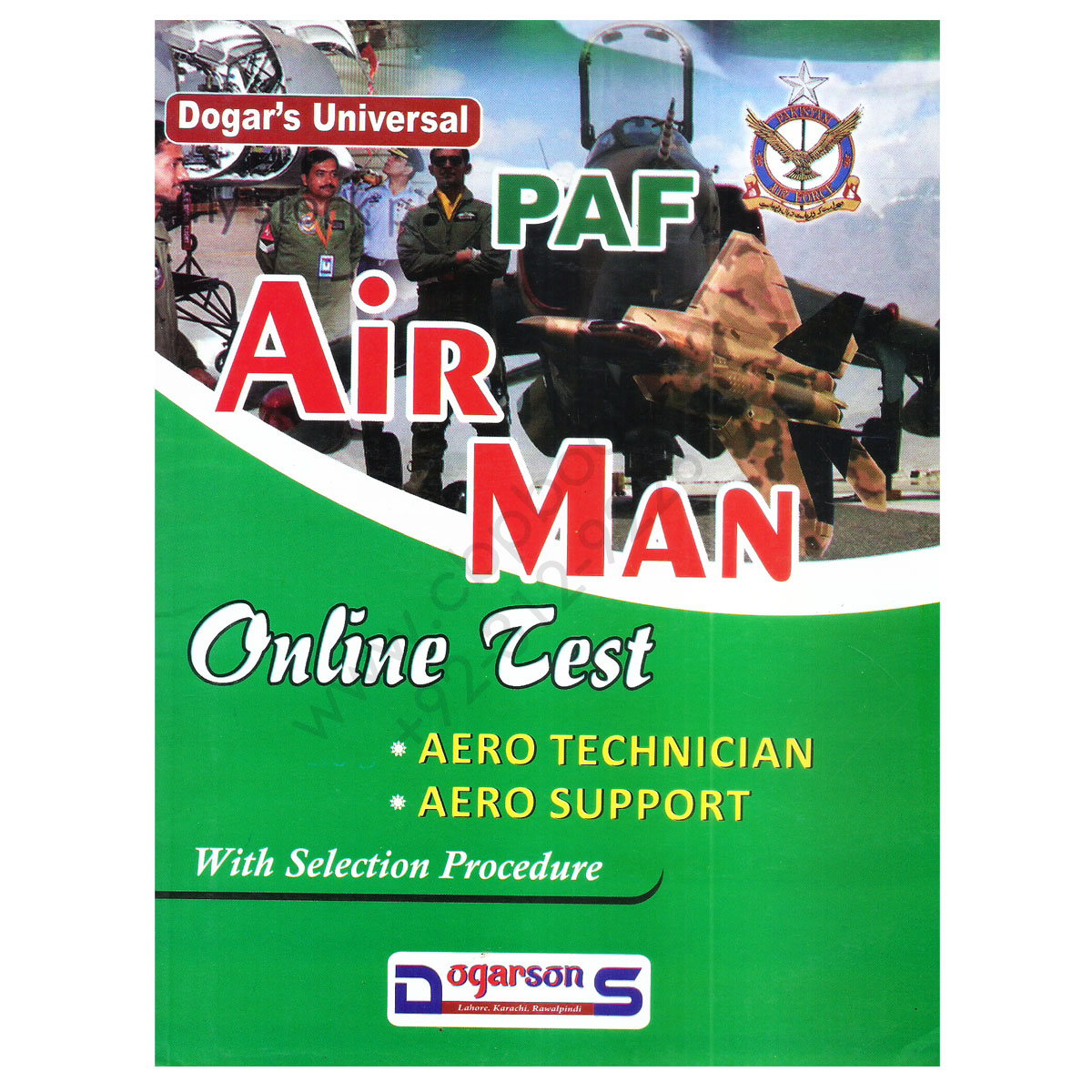 paf air man online test with selection procedure by dogaron