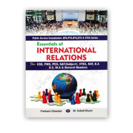 essentials of international relations by parkash chander & m sohail bhatti