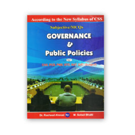 governance & public politics by dr rasheed ahmed & m sohail bhatti