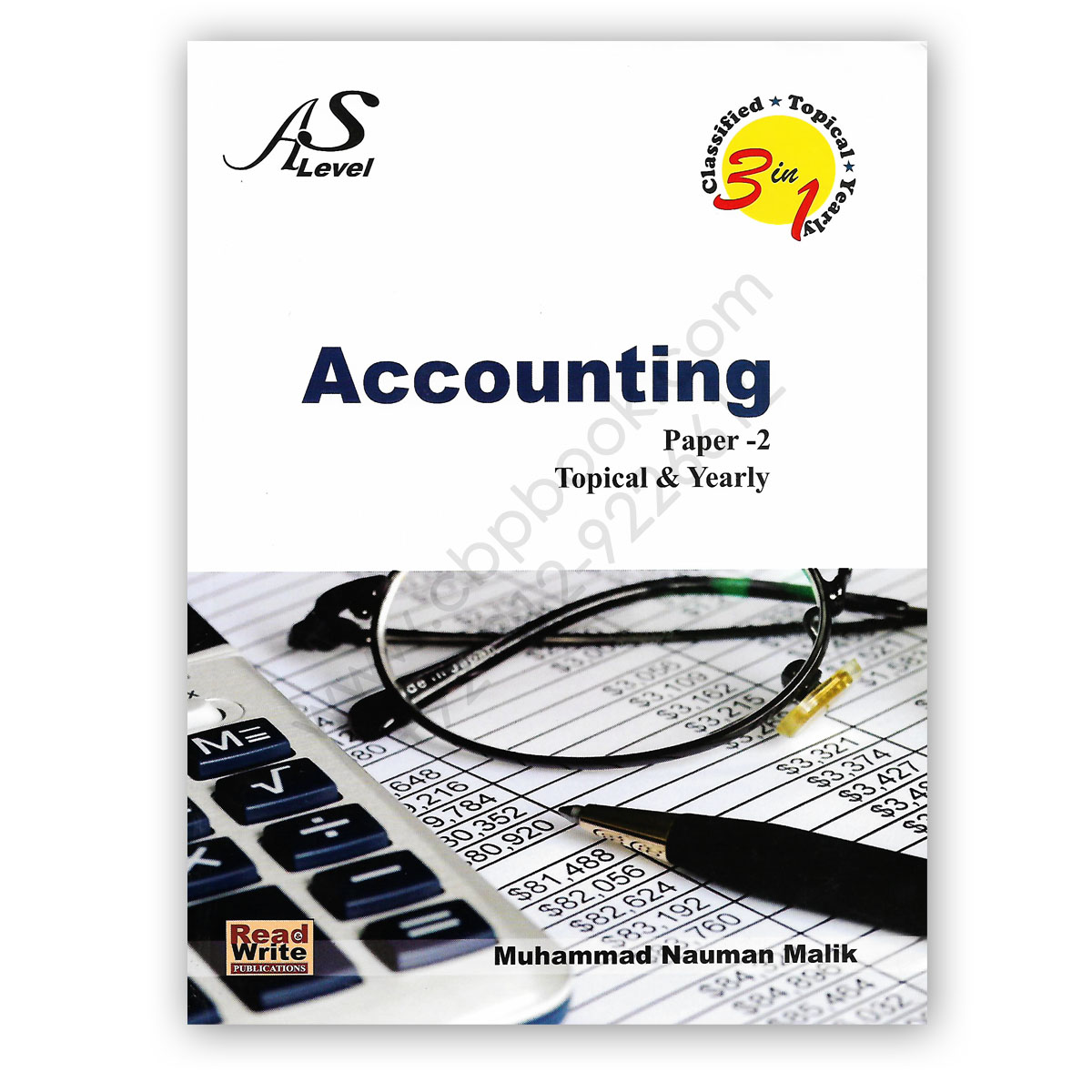 as level accounting paper 2 topical yearly by nauman malik - read write