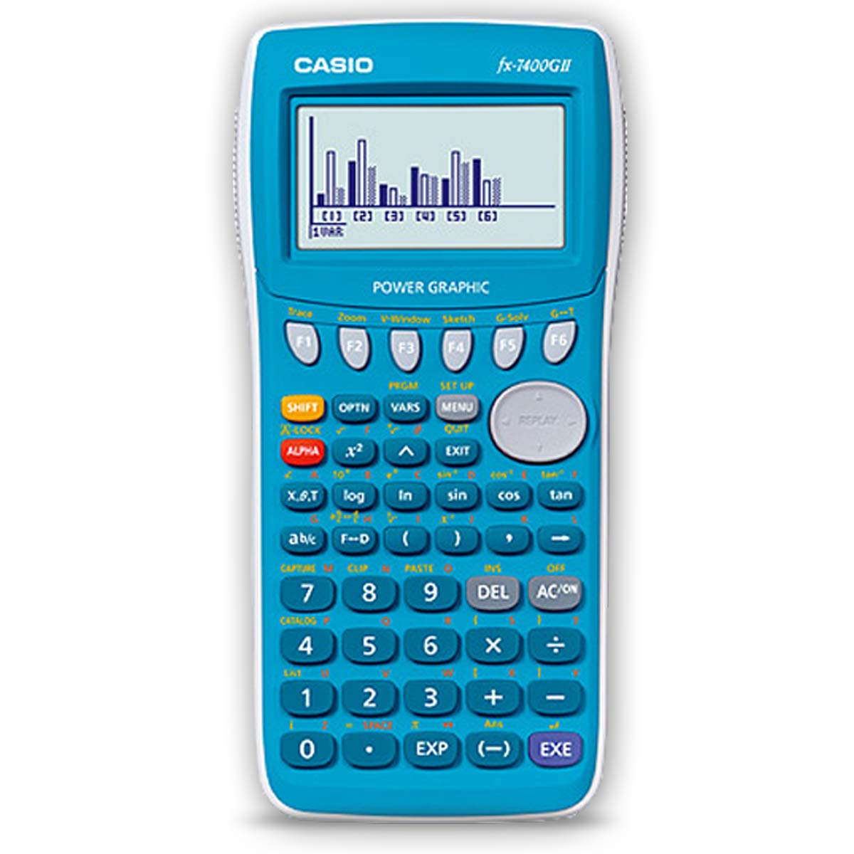 casio fx 7400gii power graphic calculator original