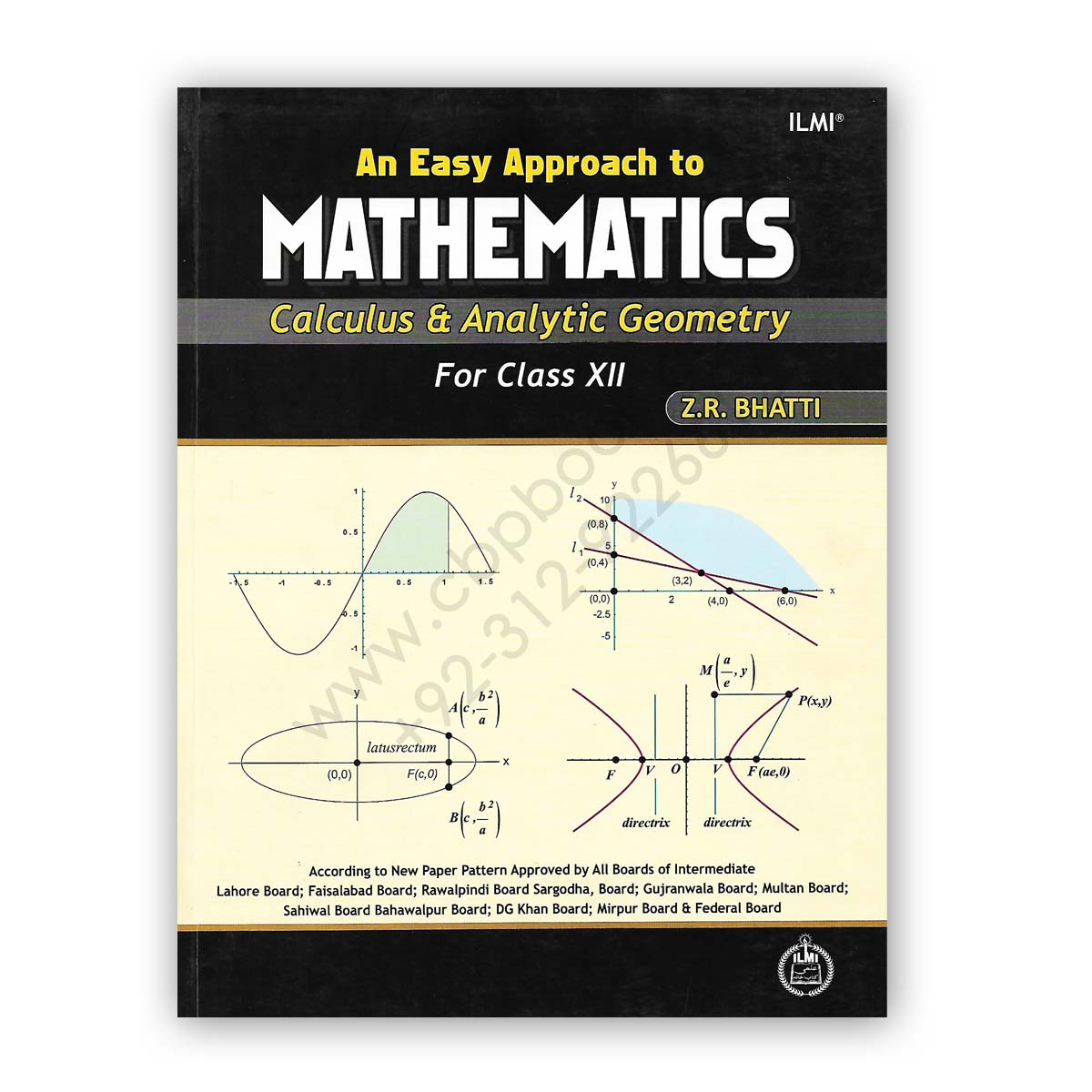ilmi an easy approach to mathematics for class 12 by z r bhatti
