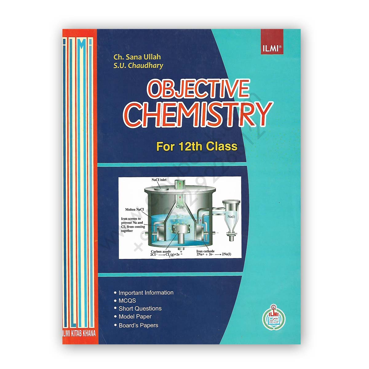 ilmi objective chemistry for 12th class by ch sana ullah & s u chaudhary