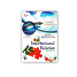 international relations for ba 1 by prof azhar ali khan - iqra