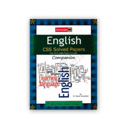 ENGLISH CSS Solved Papers Companion By M Soban Ch - CARAVAN BOOK