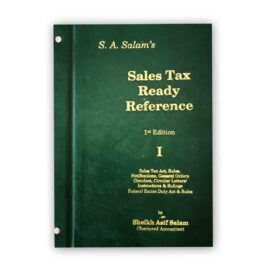 SA Salam's SALES TAX Ready Reference Vol. 1 & 2 (209th Update July 15 2021)