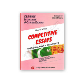 COMPETITIVE ESSAYS By Nasir Jamal Shah & Akbar Mayo – Sang e Meel