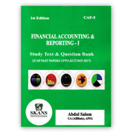 ca caf 5 far 1 2018 edition study text & question bank by abdul salam - skans