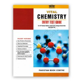 vital chemistry entry test guide ecat mcat - pakistan book