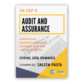 ca caf 9 audit & assurance yearly past papers from 2006 to autumn 2019