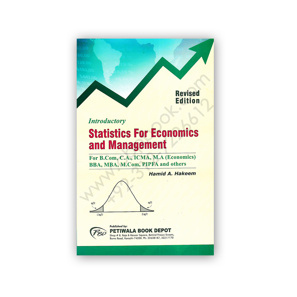 introductory statistocs for economics & management hamid a hakeem