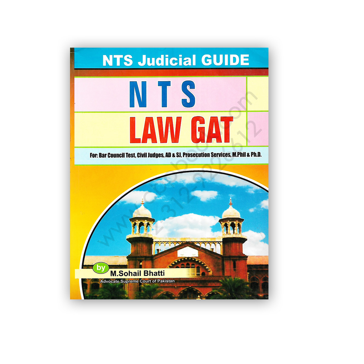 nts law gat law graduate assessment test by m sohail bhatti - bhatti sons